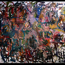 Richard Lazzara, , , Original Painting Oil, size_width{OMPHALO_STONE-1048795953.jpg} X 48 inches