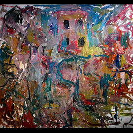 Richard Lazzara, , , Original Painting Oil, size_width{RECORDER_OF_VISIONS-1048797558.jpg} X 54 inches