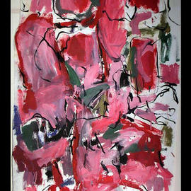 Richard Lazzara, , , Original Painting Oil, size_width{RED_RUM-1048794081.jpg} X 66 inches