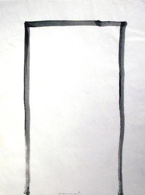 Richard Lazzara, Baba window of light, 1975, Original Calligraphy, size_width{a_door-1106676391.jpg} X 24 inches