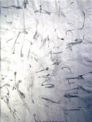 Richard Lazzara, Baba window of light, 1975, Original Calligraphy, size_width{be_the_light-1106682270.jpg} X 24 inches