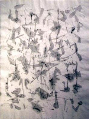 Richard Lazzara, Baba window of light, 1975, Original Calligraphy, size_width{beyond_mind-1106682531.jpg} X 24 inches