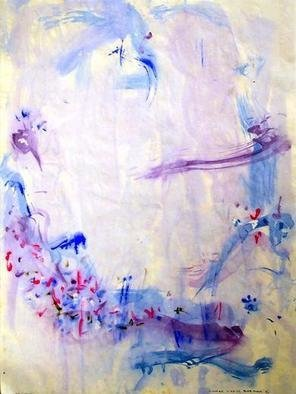 Richard Lazzara, Baba window of light, 1975, Original Calligraphy, size_width{blue_moon-1106687207.jpg} X 24 inches