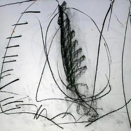 Richard Lazzara, , , Original Drawing Charcoal, size_width{eve-1108750906.jpg} X 24 inches