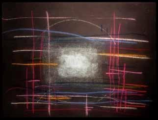 Richard Lazzara, Baba window of light, 1982, Original Calligraphy, size_width{garage_of_karma-1084556569.jpg} X 19 inches