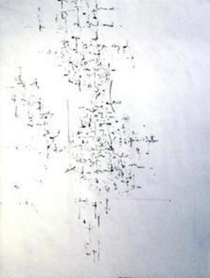 Richard Lazzara, Baba window of light, 1974, Original Calligraphy, size_width{high_way-1106245219.jpg} X 24 inches
