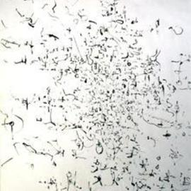 Richard Lazzara, Baba window of light, 1974, Original Calligraphy, size_width{labels-1106246481.jpg} X 24 inches
