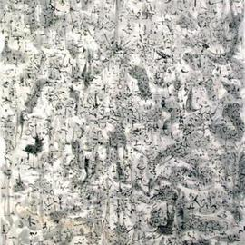 Richard Lazzara, Baba window of light, 1975, Original Calligraphy, size_width{land_of_earthlings-1106750182.jpg} X 24 inches