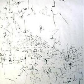 Richard Lazzara, Baba window of light, 1974, Original Calligraphy, size_width{language-1106246906.jpg} X 24 inches