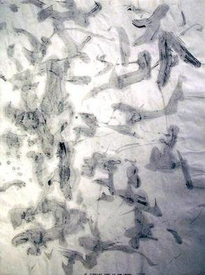 Richard Lazzara, Baba window of light, 1975, Original Calligraphy, size_width{light_in_the_leaves-1106751077.jpg} X 24 inches