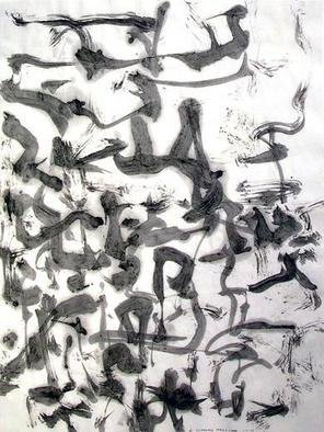 Richard Lazzara, Baba window of light, 1975, Original Calligraphy, size_width{many_and_one-1106751712.jpg} X 24 inches