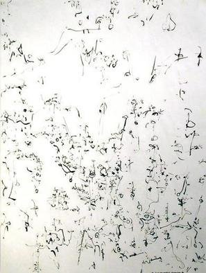 Richard Lazzara, Baba window of light, 1975, Original Calligraphy, size_width{mobile_fixations-1106752062.jpg} X 24 inches