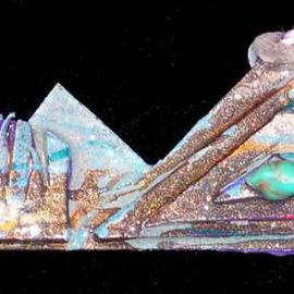 Richard Lazzara, , , Original Sculpture Mixed, size_width{mountain_view_pin_ornament-1137003695.jpg} X 2 inches