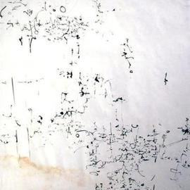 Richard Lazzara, Baba window of light, 1975, Original Calligraphy, size_width{om_bhur_bhuva_swah-1106753793.jpg} X 24 inches