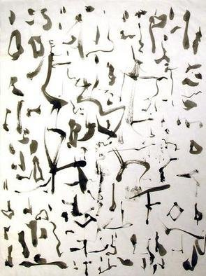 Richard Lazzara, Baba window of light, 1975, Original Calligraphy, size_width{page_of_essay-1106754191.jpg} X 24 inches