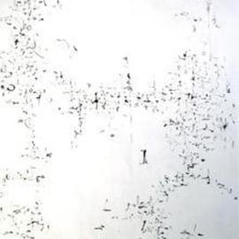 Richard Lazzara, Baba window of light, 1974, Original Calligraphy, size_width{this_way_we_go-1106253346.jpg} X 24 inches