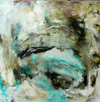 Sharon Barfoot; A Great Breath Goes Forwa..., 2013, Original Painting Oil, 12 x 12 inches. Artwork description: 241 abstract, aqua, barfoot, oil painting...