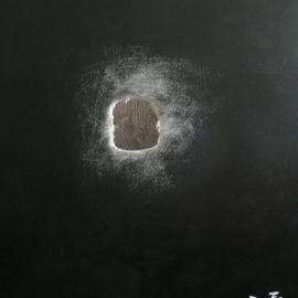 Artist: Jean Charles Duffaut, title: Hole in the univers, 2007, Original Painting Acrylic