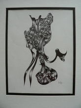 Artist: Jean Charles Duffaut's, title: octopus, 2005, Drawing Pen