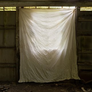 Steven Brown; Glow, 2013, Original Photography Color, 16 x 16 inches. Artwork description: 241  color, cloth, wrapped, wrapping, fine art, fine art photography, sunlight, Christo, photo manipulation,       ...