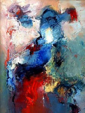 Shefqet Avdush Emini; Untitled, 2006, Original Painting Oil, 40 x 50 cm. Artwork description: 241  Oil painting on canvas     ...