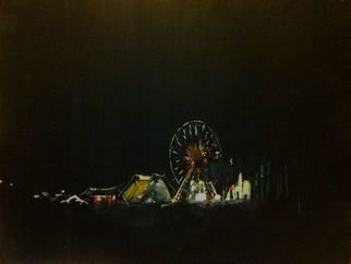Sheila Mccarron; Ferris Wheel, 2014, Original Painting Acrylic, 8 x 10 inches. Artwork description: 241       Acrylic on Board     ...