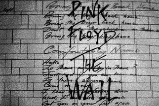 Shelley Catlin; The Wall, 2014, Original Photography Digital, 24 x 20 inches. Artwork description: 241    Pink floyd The Wall, white version, vinyl artwork, LPs, Comfortably Numb lyrics ...