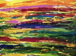 Azhar Shemdin; Active Landscape, 2017, Original Painting Acrylic, 20 x 16 inches. Artwork description: 241 Exciting and gorgeous painting on Canvas pad thick paper. Original painting. ...