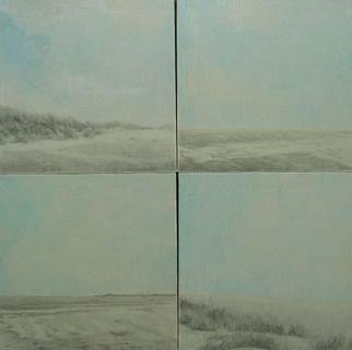 Shin-Hye Park; Landscape, 2004, Original Mixed Media, 80 x 80 cm.