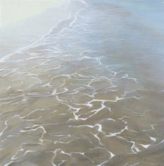 Shin-Hye Park; Wave6, 2011, Original Painting Oil, 40 x 40 cm.
