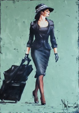 Igor Shulman; Freedom Ii, 2019, Original Painting Oil, 27.5 x 39.4 inches. Artwork description: 241 As they would call it now, it s a sequel.The first  freedom  literally flew away. Apparently I m not the only one worried about the image of a female traveler. Everyone likes independence. Women s independence, just like men s independence, has become an integral part ...