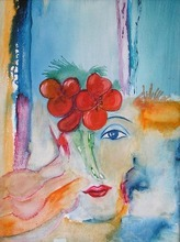 Artist: Alexander Sibachev's, title: Beautiful, 2007, Painting Oil