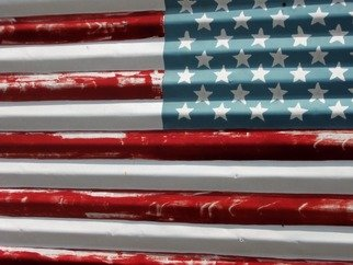Billy Tucker; The Flag The Signs Of The..., 2009, Original Photography Color, 11 x 14 inches. Artwork description: 241     www. thesignsofthetimescollection. com mail flags partiotism scenic usa landscape portraits abstract signs vintage urdan still life photo art architecture travel vintage beauty cityscape culture landscape      ...