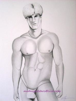 Ron Hittle; A Spring Break, 2010, Original Drawing Pencil, 14 x 17 inches. Artwork description: 241       pencil on white heavy weight Vellum Finish paper        pencil on white heavy weight, medium surface paper                 ...