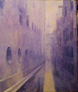 Slobodan Paunovic; Il Rio Del Lovo Venecia, 2018, Original Painting Acrylic, 24 x 28 inches. Artwork description: 241 I was interested by that nice motif on my way, as in a dream. ...
