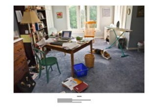 Paul Litherland; Family Workstations, 2007, Original Photography Color, 26 x 19 inches. Artwork description: 241  Family workstations is a series of portraits of the computer workstations of the artists extended family. Archival color inkjet photographs printed with pigment inks.  ...