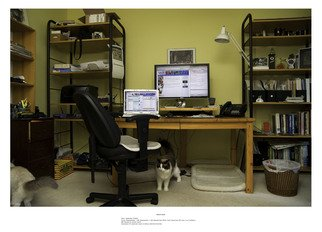 Paul Litherland; Family Workstations , 2007, Original Photography Color, 26 x 19 inches. Artwork description: 241   Family workstations is a series of portraits of the computer workstations of the artists extended family. Archival color inkjet photographs printed with pigment inks.   ...