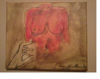 Smeu Mihai Alexandru; Lust, 2012, Original Painting Acrylic, 5 x 30 cm. Artwork description: 241 Already sold! ...