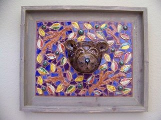 Suzanne Noll; Lil Smokie Brown Bear Fac..., 2009, Original Ceramics Other, 15 x 15 inches. Artwork description: 241