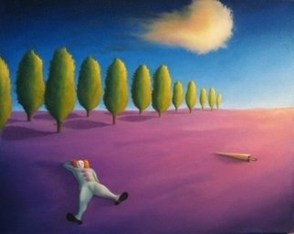 Stephen Schrimpf; Clown Dream, 2011, Original Painting Oil, 20 x 16 inches.