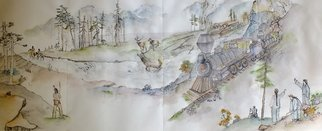 Debbi Chan, Tulips Clogs and Windmills ..., 2013, Original Artistic Book, size_width{East_to_West-1368909274.jpg} X 20 inches