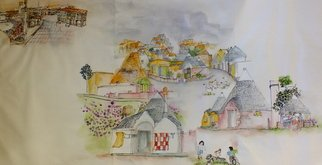 Debbi Chan, Tulips Clogs and Windmills ..., 2013, Original Artistic Book, size_width{Italy_of_my_dreams_album-1368981651.jpg} X 20 inches