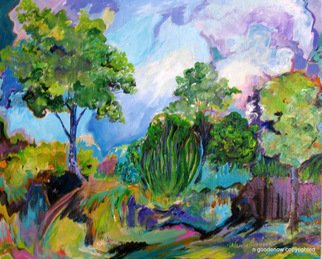 Nancy Goodenow; Landscape 101, 2011, Original Painting Acrylic, 18 x 24 inches. Artwork description: 241    acrylic  on stretched canvas    ...