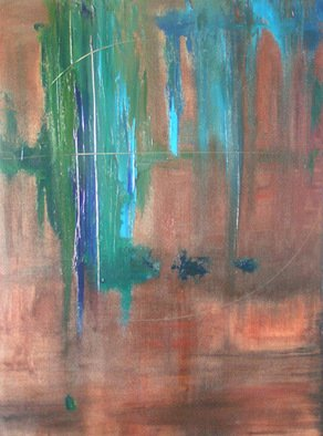Stephanie Amos; New Monday, 2007, Original Painting Other, 30 x 40 inches. Artwork description: 241  Mixed media abstract  ...