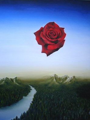 Massimiliano Stanco; La Rosa Volante, 2007, Original Painting Oil, 24 x 30 inches. Artwork description: 241  La Rosa VolanteThis work of art is sold, for privacy reasons descriptions and price will not be pubblic.Mr & Mrs KalickManhasset, New York U. S. ...