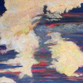 Storm Hammond, , , Original Painting Oil, size_width{Evening_Sky-1119129222.jpg} X 12 inches