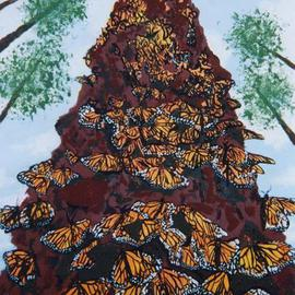 Storm Hammond, , , Original Painting Oil, size_width{Monarch_Migration-1101240996.jpg} X 16 inches