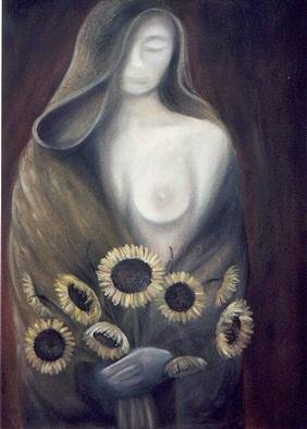 Claudia Perez, AUTUM MISTRESS, 2000, Original Painting Oil, size_width{AUTUM_MISTRESS-966828271.jpg} X 30 x  inches