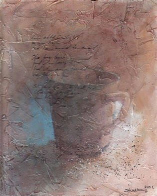 Thor-Leif Strindberg; No title 021025 8, 2002, Original Painting Other, 22 x 27 cm.