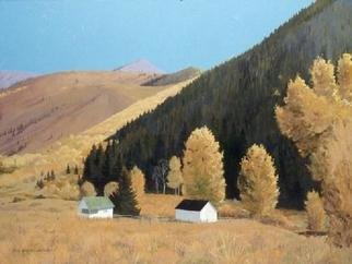 Sue Jacobsen; Greenhorn Ranger Station, 2006, Original Painting Oil, 40 x 30 inches. Artwork description: 241 I love to capture local landmarks such as this retired ranger station- - to keep our history intact. ...